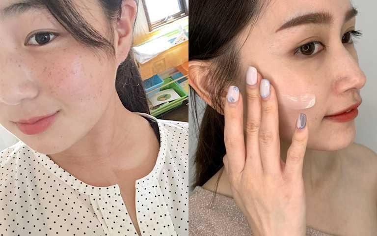 想解救臉頰上的斑點問題,就必須針對黑斑處加強處理。(圖/IG@ere___army、品牌提供)