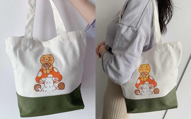 萊恩野餐袋設計的大小側背剛剛好,非常實用。(圖/吳雅鈴攝影)