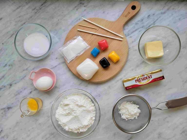 亞尼克推出的翻糖萌寵餅乾組。