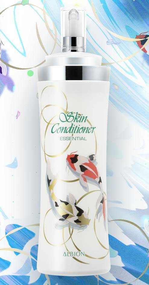 ALBION健康化妝水大容量魚悅限定版 485ml/3,400元  每人限購兩瓶。(圖/品牌提供)