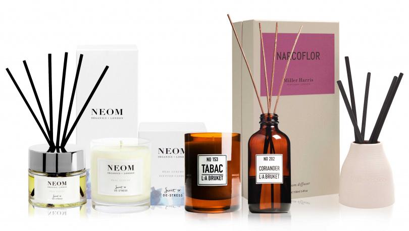 10/10 HOPE跨品牌經典室內香氛商品任選兩件85折,包含擴香、蠟燭、香氛機(不含香水、旅行蠟燭、室內噴霧、擴香補充瓶)。(圖/品牌提供)