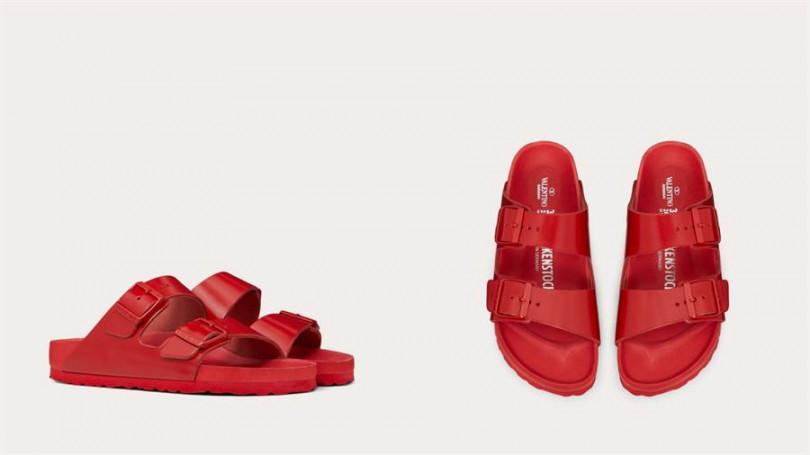 就連細節也用單一的Valentino紅統一。
