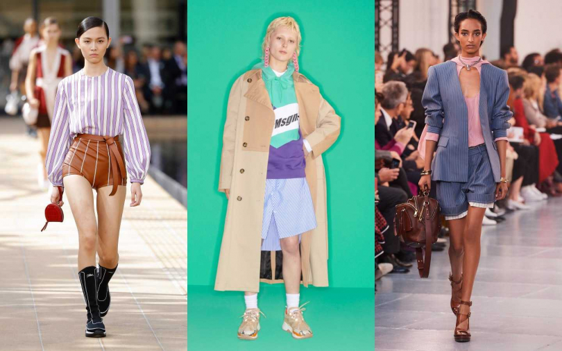左至右:Longchamp、MSGM、Chloé(圖/品牌提供)