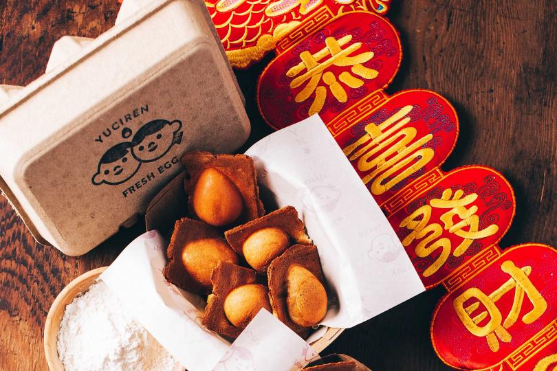翻玩華人年節傳統點心,童趣玩味魚刺人雞蛋糕再創驚喜。<br>