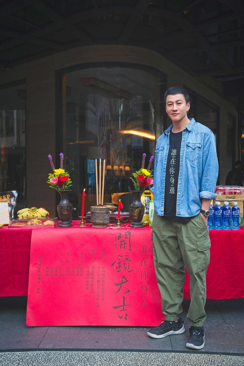何潤東精心籌備的第二部影集作品開拍。(圖/頤東娛樂提供)
