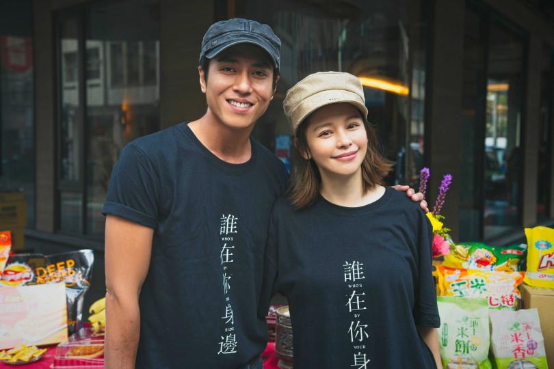 金鐘視帝莊凱勛(左)與徐若瑄(右)劇中演夫妻。(圖/頤東娛樂提供)
