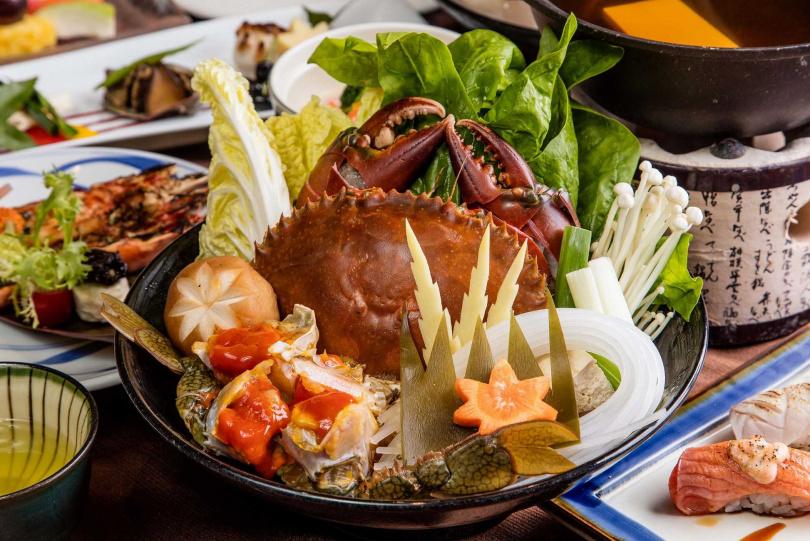 蟹逅饗宴的大青蟹。(圖/福容大飯店提供)