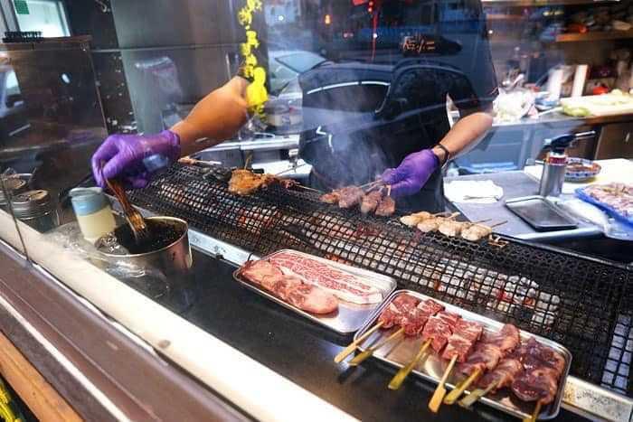 圖片來源:店小二串燒VS燒肉