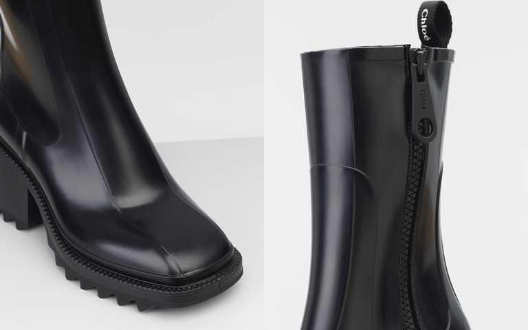 扁平鞋頭、冰爪型防滑鞋底、刻意放大的拉鍊頭…,處處充滿品牌設計的細膩巧思。(圖/品牌提供)