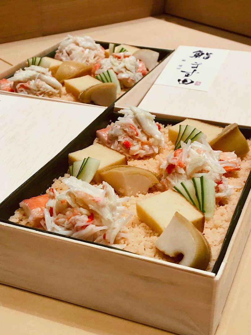 「鮨 增田の散壽司」。(2,800元,圖/微風集團提供)