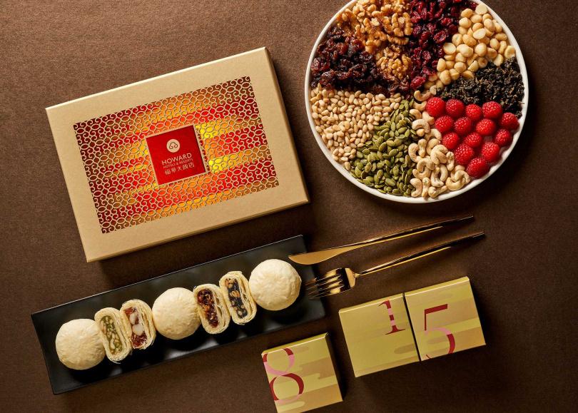 「桂月禮盒」加入了東方美人核桃,香氣四溢!