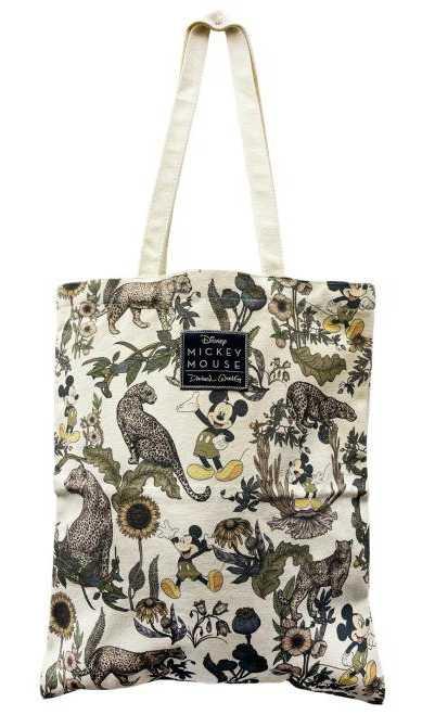 購物滿額禮的Daniel Wong*Disney聯名印花忘憂叢林購物袋。(圖/品牌提供)