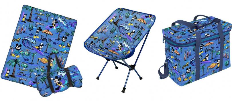 野餐墊/1,980元、摺疊椅/1,980元、保冷袋/1,880元(圖/品牌提供)