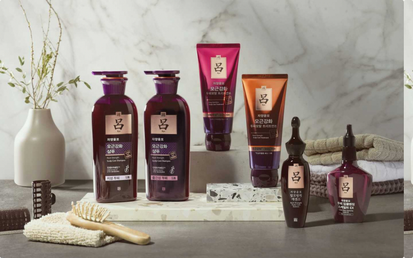 《呂Ryo》滋養韌髮系列全套都是針對養護頭皮設計。(圖/品牌提供)