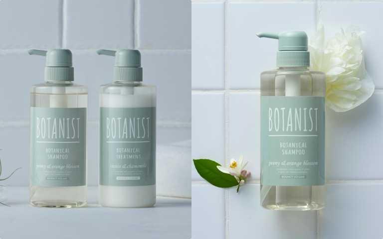 BOTANIST 植物性洗髮精和潤髮乳(彈潤蓬鬆)牡丹&橙花/550元 (圖片/品牌提供)