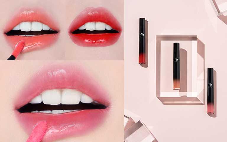 奢華訂製琉光唇萃3色限量色6ml/NT1,280(圖/GIORGIO ARMANI BEAUTY提供)