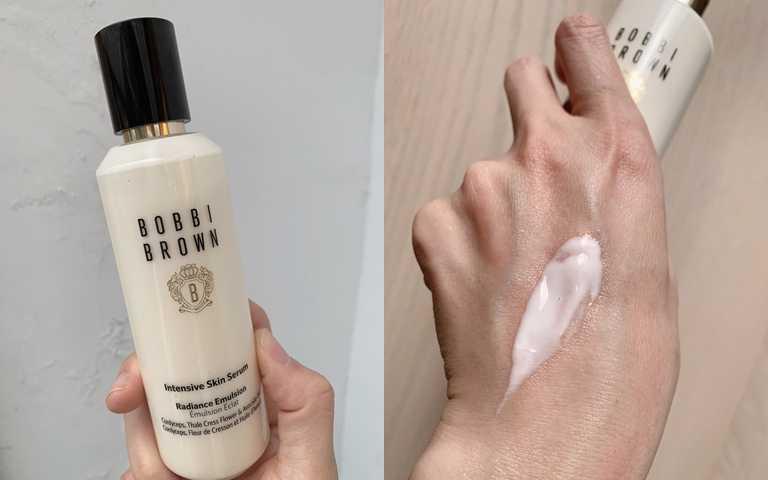 BOBBI BROWN冬蟲夏草修護精華乳150ml/2,900元這瓶精華乳還有很療癒的植萃香氣,讓保養時光更享受。(圖/吳雅鈴攝影)