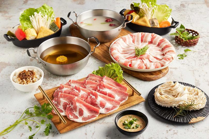 雲林粉紅豬套餐。(圖/肉多多提供)