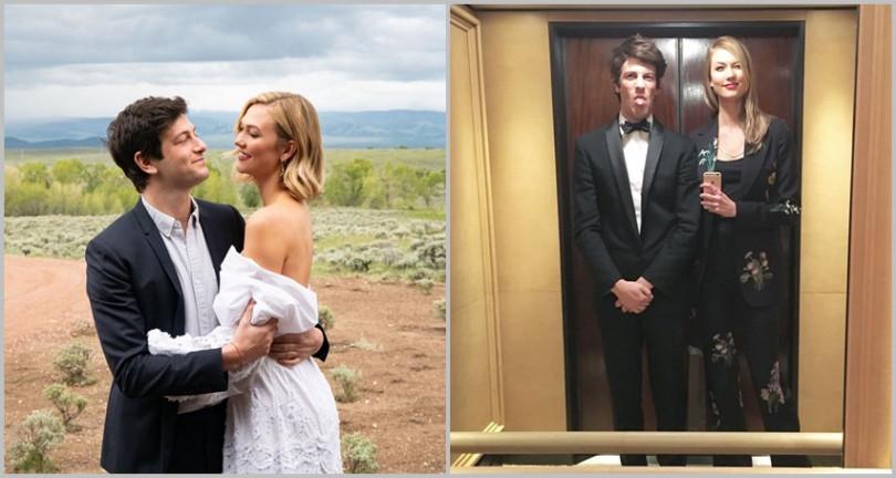 企業家高富帥老公Joshua Kushner與卡莉克勞斯Karlie Kloss小倆口低調完婚。(圖/翻攝IG)