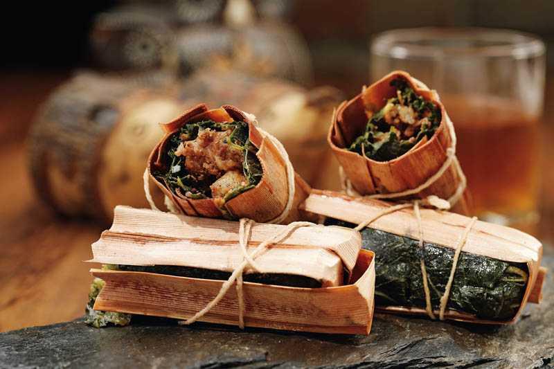 小沙媽媽包的「吉拿夫」,內餡是芋頭粉口味。(160元)(圖/于魯光攝)