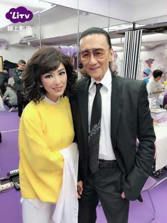米雪和謝賢合作。(圖/LiTV線上影視提供)