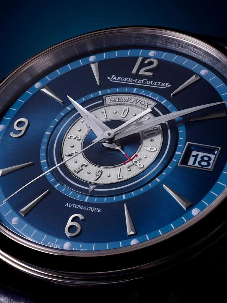 JAEGER-LECOULTRE「MASTER CONTROL MEMOVOX TIMER大師系列響鬧計時器腕錶」╱495,000元。(圖╱JAEGER-LECOULTRE提供)