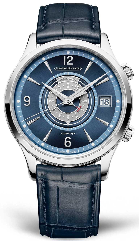 JAEGER-LECOULTRE「MASTER CONTROL MEMOVOX TIMER大師系列響鬧計時器腕錶」,精鋼錶殼,956型自動上鏈機芯,40mm,限量250只╱495,000元。(圖╱JAEGER-LECOULTRE提供)