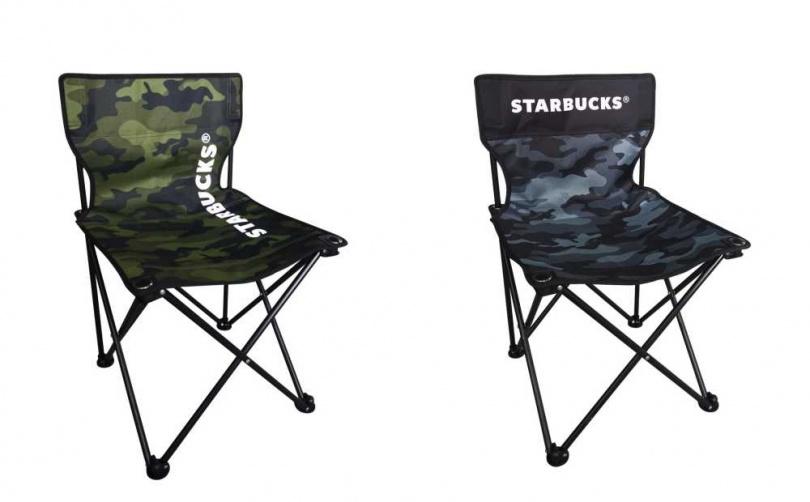 單筆消費滿3,500元,就能得到星巴克萬用折疊椅乙個。圖片來源:星巴克