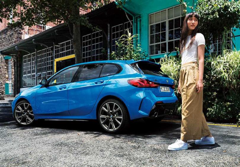 )品牌形象較陽剛的BMW,其入門的1 Series也有六成多的女性車主。(圖/BMW提供)