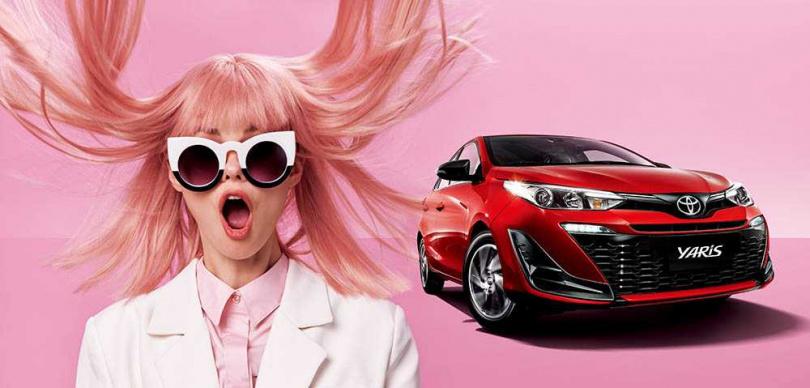 國產的TOYOTA Yaris平均每年銷售都在13,000台以上,是擁有最多女性車主的車款。(圖/和泰汽車提供)