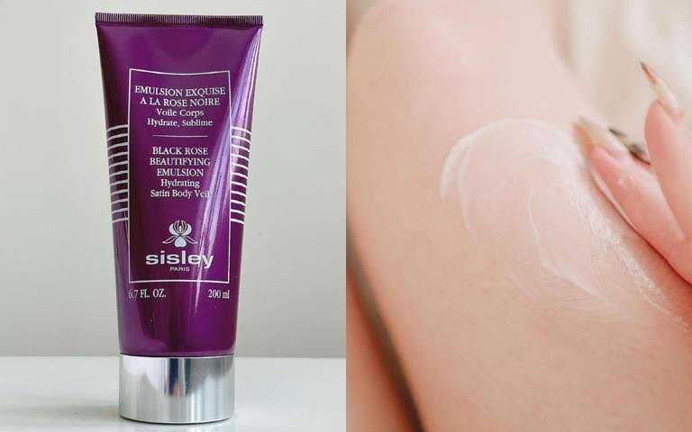 因為黑玫瑰萃取富含丹寧酸,能為肌膚注入最高活性能量,使肌膚更加光滑細緻,讓肌膚自帶光澤感,由內而外透出耀眼光芒!(圖/IG@feonalita、IG@myfavoritebeautyblog)