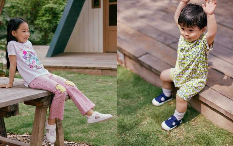 H&M 三麗鷗 Sanrio 聯名童裝系列(圖/品牌提供)