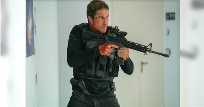 傑拉德巴特勒重磅回歸《全面攻佔3:天使救援》,場面更浩大。(海樂影業提供)