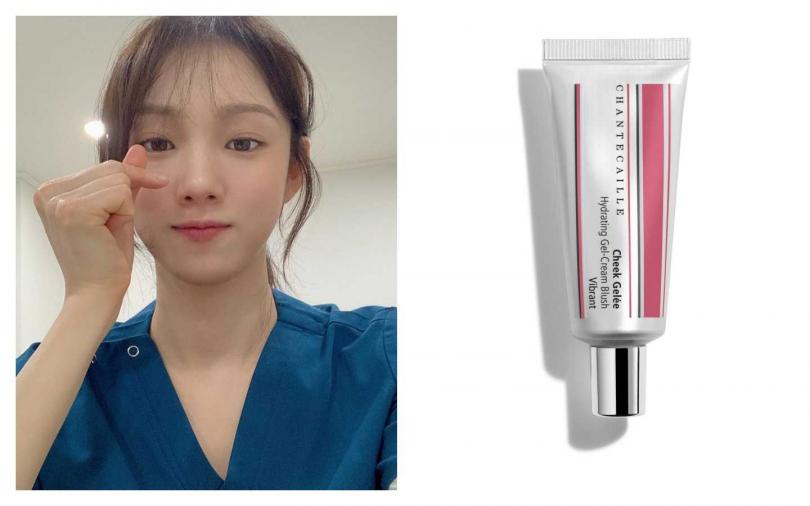 編輯推薦相似色:CHANTECAILLE 水潤頰彩凍#Vibrant/1,550元(圖/IG、品牌提供)