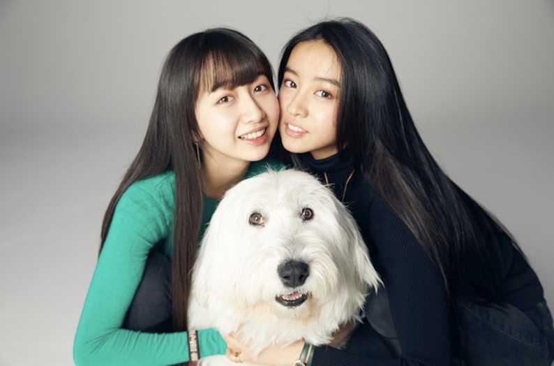 網友認為姐姐Cocomi像媽媽,妹妹光希較像爸爸。(翻攝木村光希微博)