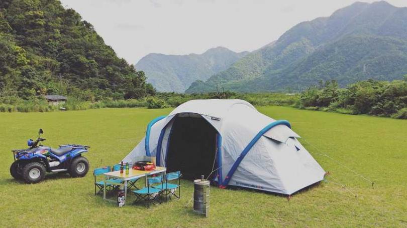 宜蘭東澳露境東岳露營體驗。(圖/KKDay提供)