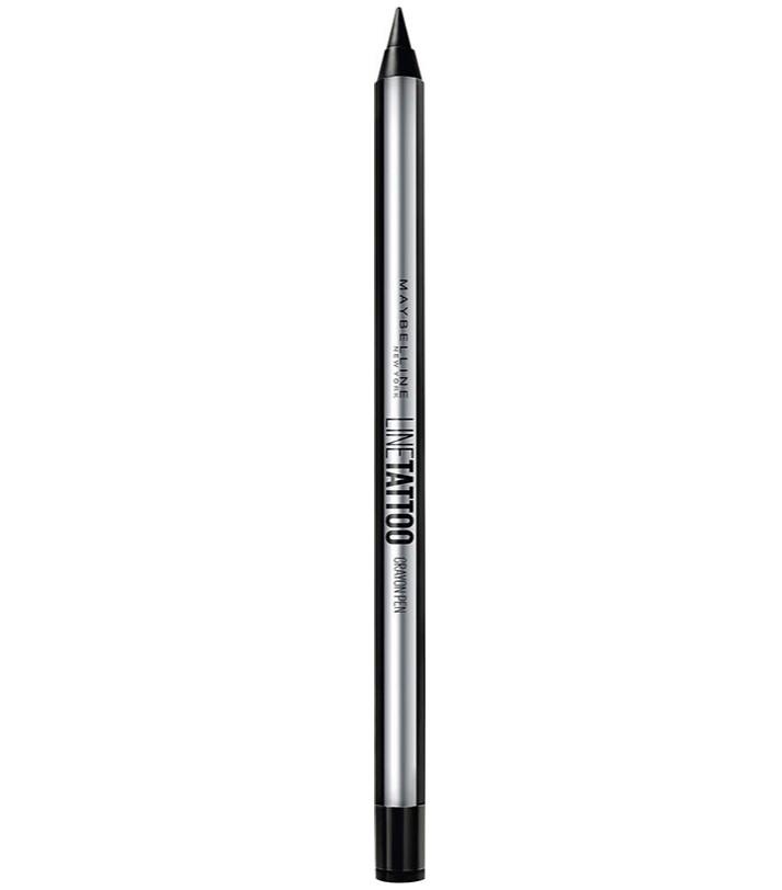 MAYBELLINE超持久抗暈眼線膠筆#黑色/350元