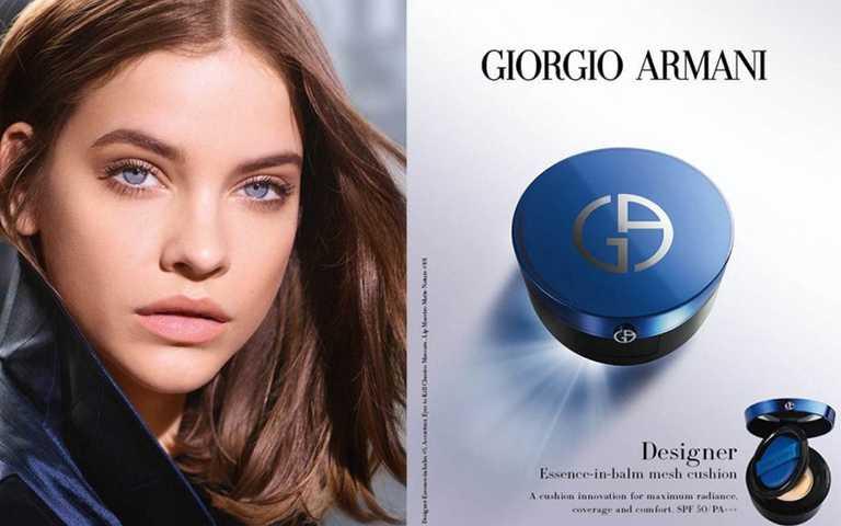 設計師全能氣墊水粉霜共有#2到#5四種色號,建議有興趣的人去櫃上直接選色號最準。(圖/Armani Beauty)