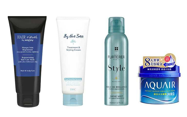頭髮的基礎保養可以從保濕髮膜類產品下手。(圖/各品牌提供)