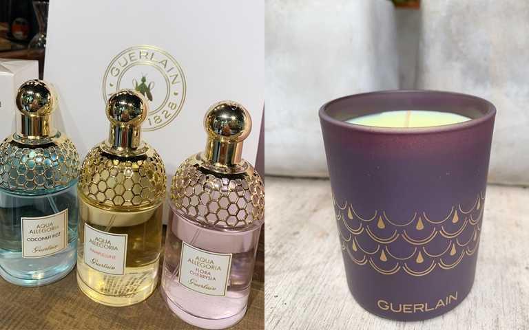 任購兩款75ml花草水語淡香水,即可獲贈「嬌蘭迷你香氛蠟燭」,幫居家空間點香香。(圖/吳雅鈴攝影)