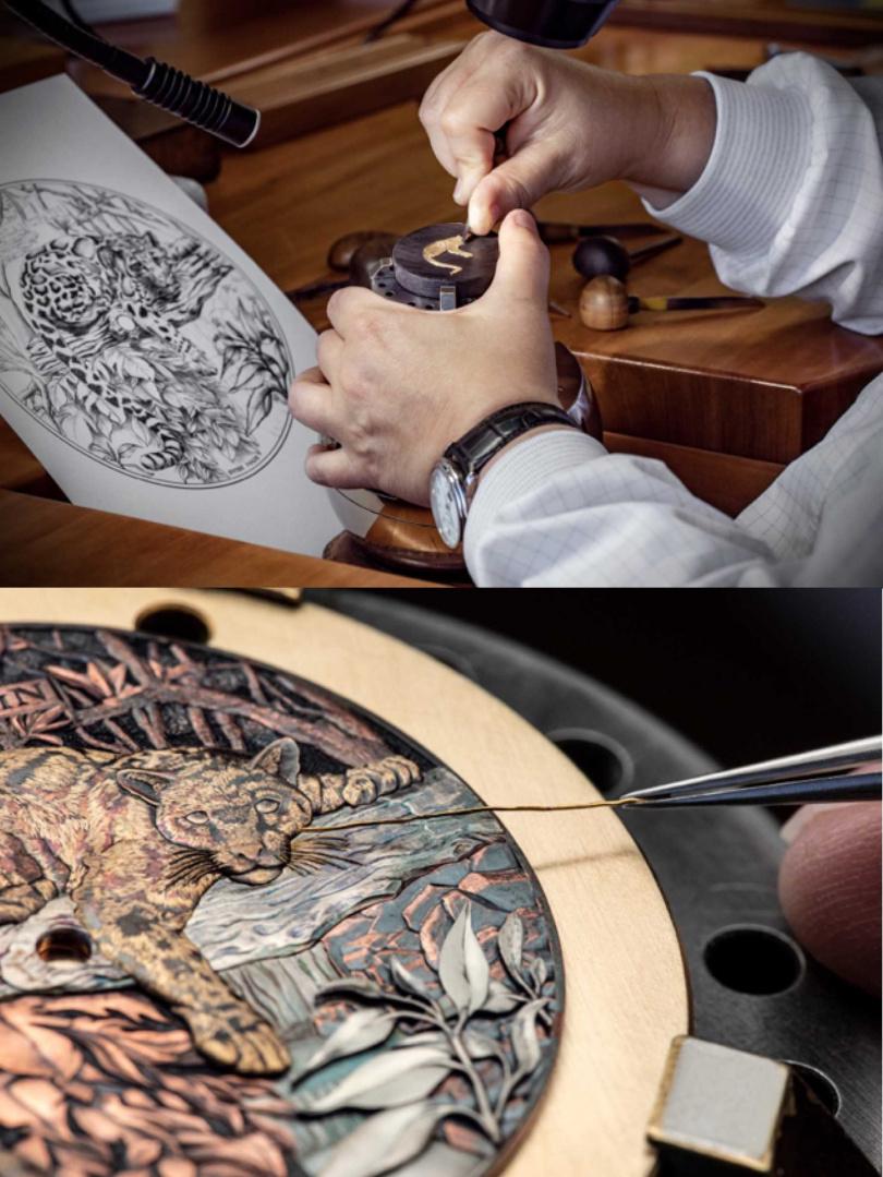 赤銅工藝是一項具有百年歷史、備受武士青睞用以裝飾武士刀的日本傳統技法。