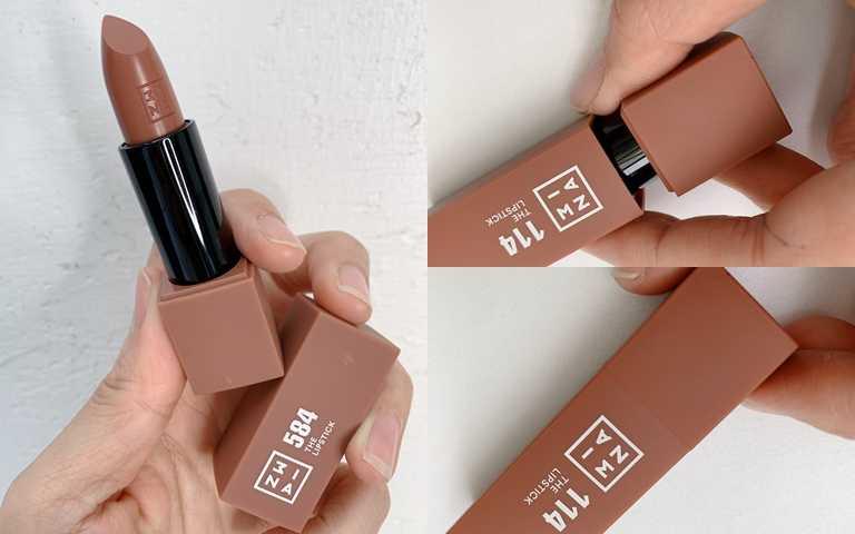 外包裝採用高級質感的霧面磁吸式唇殼。(圖/吳雅鈴攝影)