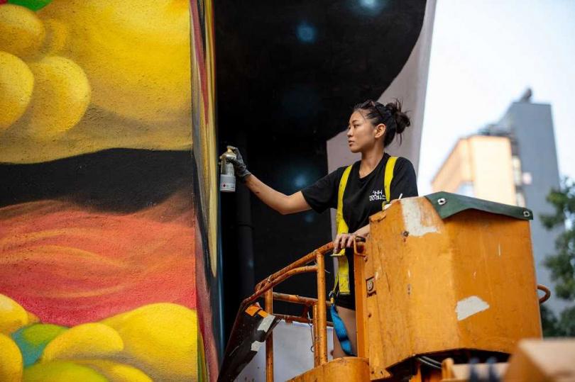 藝術團體HKwalls致力透過壁畫連結當地社區。(圖/HKwalls提供)