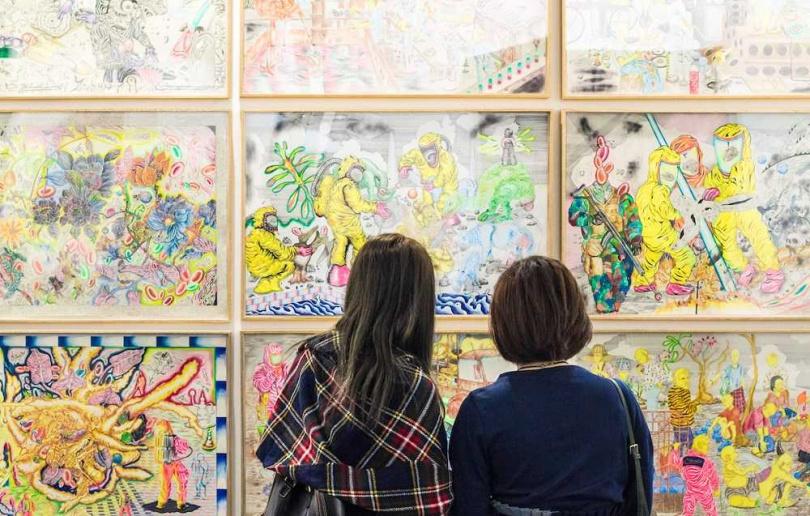 「Art Central」雲集亞洲革新畫廊的新銳菁英。(圖/Art Central提供)