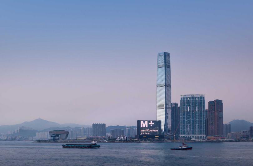 「M+視覺文化博物館」即將於今年底開幕。(圖/Herzog & de Meuron提供)
