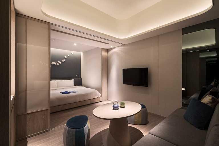 礁溪晶泉丰旅推出「買房送餐」住房專案,溫泉雙人房一泊二食只要5,999起。