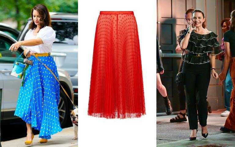 圖3/DIOR紅色愛心紗裙/155,500元(圖/翻攝網路、品牌提供)