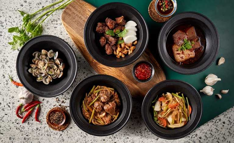 「狂一鍋」標榜新台味火鍋,款款風味都極具特色。