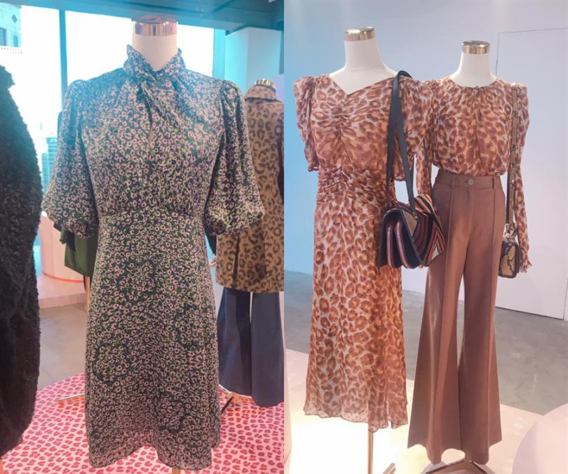 各式動物紋理甜美洋裝和上衣,這股復古風潮必須跟上!