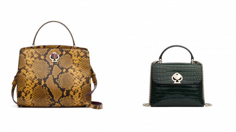 新推出的Romy系列包款,豐富花紋打造各式職場造型。
